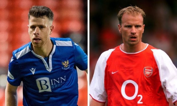 Guy Melamed and Dennis Bergkamp.