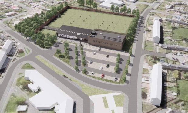 An architect's impression of the planned Seaton Park centre.