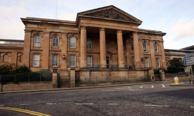 The case called at Dundee Sheriff Court