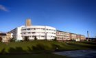 The teenage victim was treated for a broken jaw at Ninewells Hospital