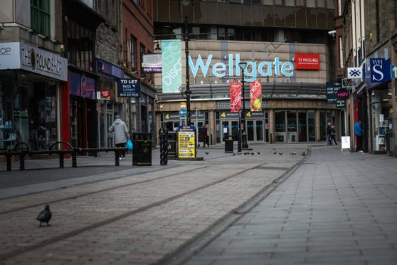 The attack took place in Dundee Wellgate centre