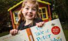 Charlotte Keenan, 5, on World Book Day 2021.