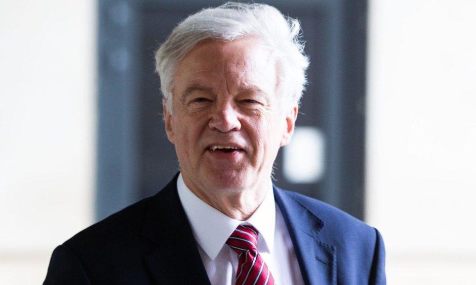 David Davis MP.