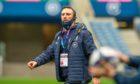 Scotland assistant coach Mike Blair.