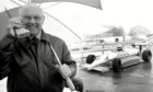 The legendary Murray Walker, who died at the age of 97, was a big fan of motor cycling in Fife.