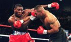 Frank Bruno and Mike Tyson fought twice against each other and both men have buried the hatchet after a tender reunion.