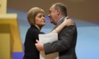 Nicola Sturgeon and Alex Salmond in 2014.
