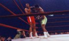 Frazier and Ali battled it out in the Fight of the Century back in 1971.