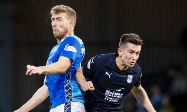 It's Dundee v St Johnstone on Saturday.