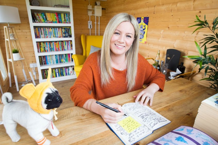 Pamela Butchart's book My Headteacher is a Vampire Rat has been listed in the top 10 books read by primary children in lockdown.