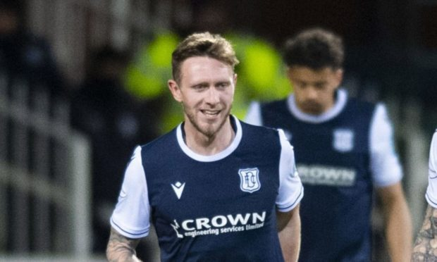 Dundee's Jordan McGhee is back fit and available.