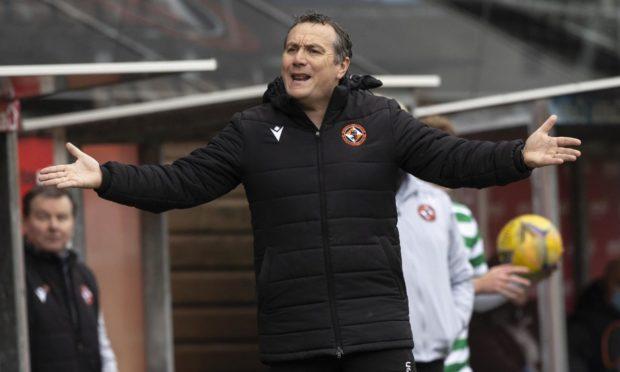 Dundee Utd Manager Micky Mellon