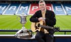 Singer Nathan Evans made the latest Scottish Cup draw.