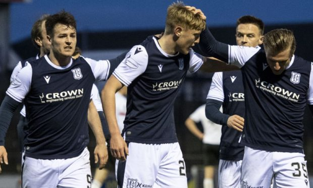 Dundee were celebrating another win in midweek.