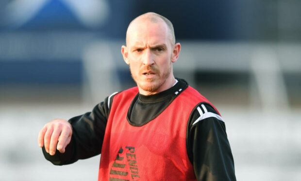 Forfar player-boss Gary Irvine insists he's ready to bench himself as soon he has a full strength Station Park squad