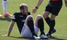 Paul Watson suffered an injury at Killie