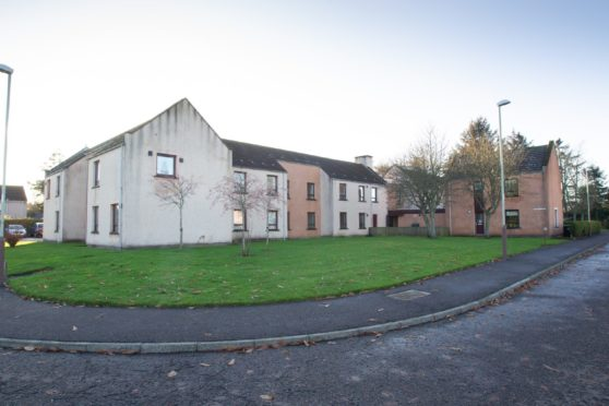 Bulldozers are set to move in on Edzell's Inglis Court.