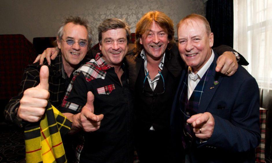 Stuart Wood, Les McKeown, Donald McLeod and Alan Longmuir.