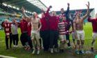 Hamilton won promotion in the inaugural SPFL Premiership playoffs