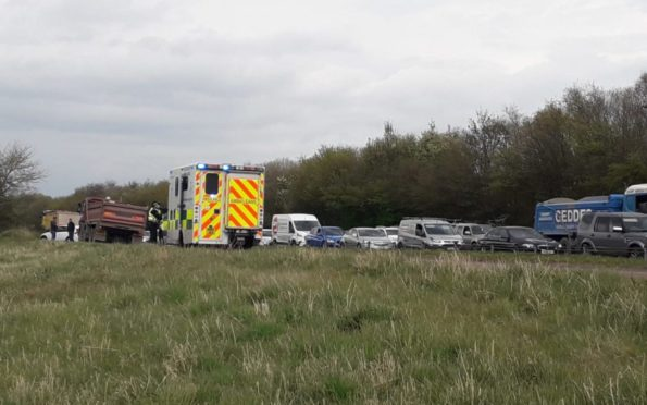 Arbroath Road accident