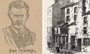 Adam Marshall was the hero Dundee FC trainer and all-round sportsman who died in 1896 in the old Overgate.
