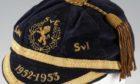 Billy Steel's Scotland cap (Mullocks).