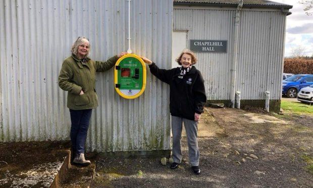 Rural Perthshire defibrillators