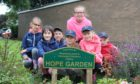 Children from Belarus during a previous visit with Fife branch of Chernobyl Children's Life Line