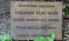 Secret Garden Outdoor Nursery is based in woodland at Letham.