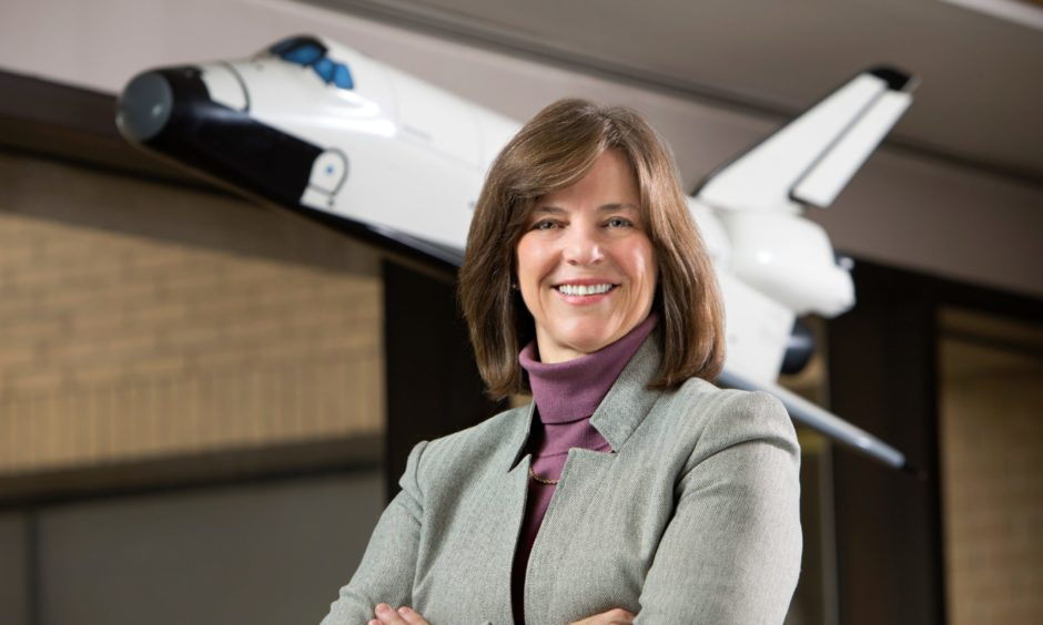 Dr Bonnie Dunbar successfully completed five Space Shuttle missions during her time with NASA.