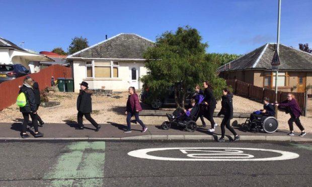 Fairview School virtual kiltwalk
