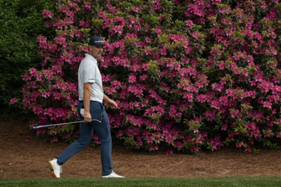 Justin Rose bloomed on opening day at Augusta.