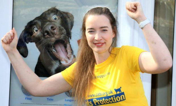 Lauren Blyth at Thrums Veterinary Group, Scone.