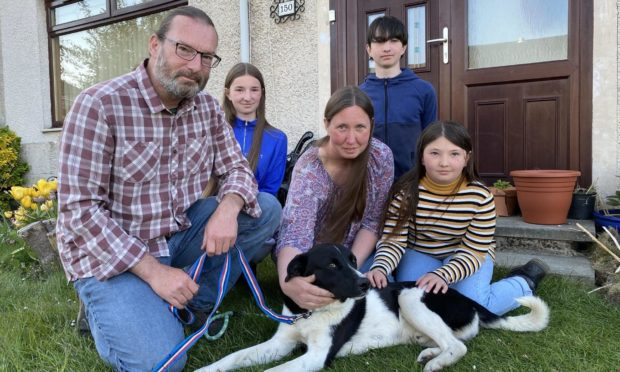 Martin and Victoria McLoughlin and children, Rowan, Connor and Josie are delighted to have Jude back home.