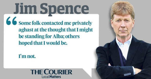 JIM SPENCE: Why I turned down Alex Salmond, but I'm not ruling his Alba Party out