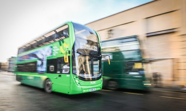 Xplore Dundee busy buses tracker
