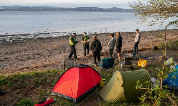 Stop dirty camping