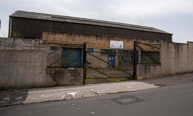 Fabtek building Lochgelly