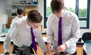 A fast track Dundee University course designed to tackle teacher shortages in STEM subjects has produced less than half of the total trainees sought.