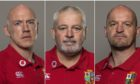 Warren Gatland (c) has brought in Scotlands Gregor Townsend and Steve Tandy for the tour to South Africa.
