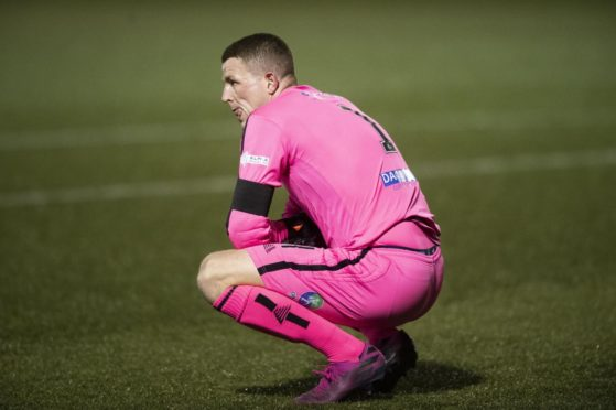Marc McCallum is preparing for life in League Two as Forfar face relegation