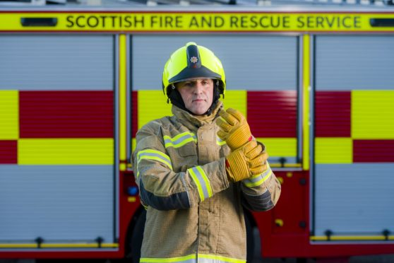 Dundee firefighter Alan Soutar has reached Ally Pally