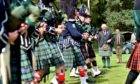 The 2021 Ballater Highland Games have been cancelled. The Duke of Rothesay, Patron of the Scottish Highland Games Association, attending  the Ballater Highland Games in 2019. HRH The Duke of Rothesay with John Sinclair watching the Lonach Pipers. Picture by Scott Baxter