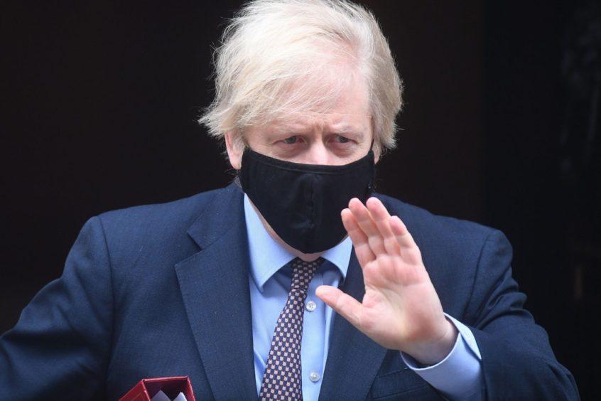 Nicola Sturgeon Boris Johnson