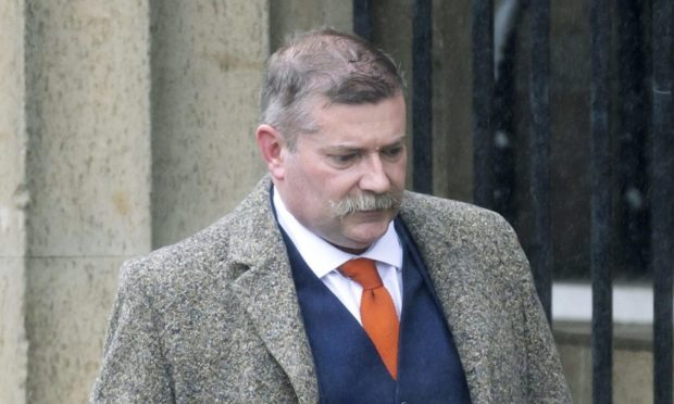 Simon Bloodworth at Perth Sheriff Court