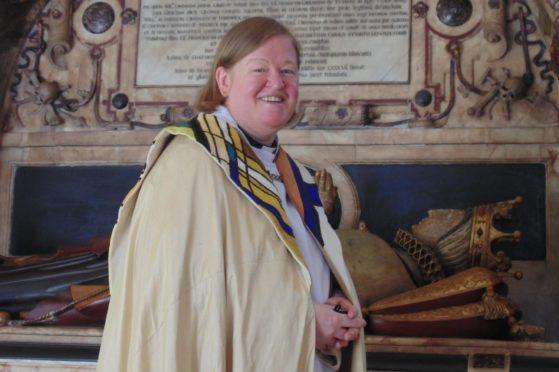 Revd Canon Dr Elizabeth Thomson.