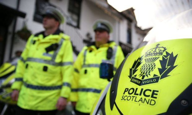 Fife police stand-off