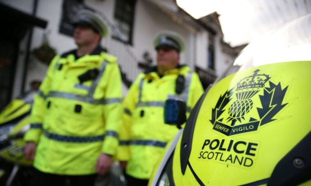 alleged disturbance Burntisland