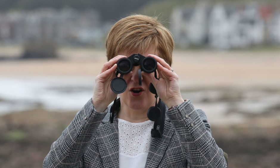 Nicola Sturgeon recovery plan