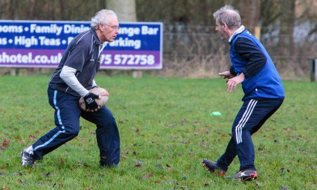 Forfar walking rugby resumes